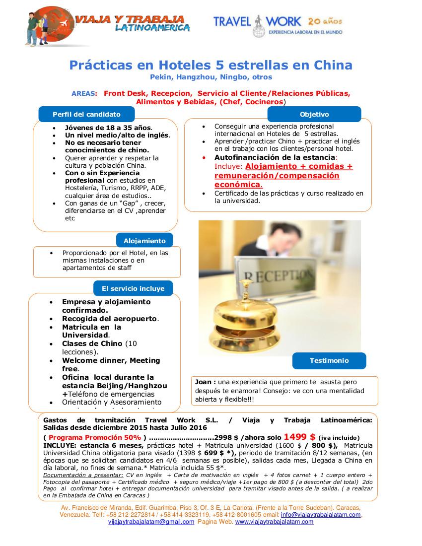 Oportunidades Pasantias y Empleo para estudiantes de la escuela ...