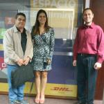 DHL Express José Glevez TE Tany Carrillo TA Armando Loaiza