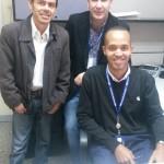 Tutor de pasantias Richard Ruiz, Tutor Empresarial Juan Carlos Perez y Estudiante Yordani G Muñoz Hospital Ortopedico Infantil