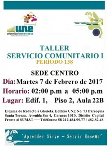 Taller  SC I P138 Centro